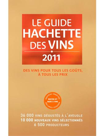 Le Guide Hachette des Vins 2011